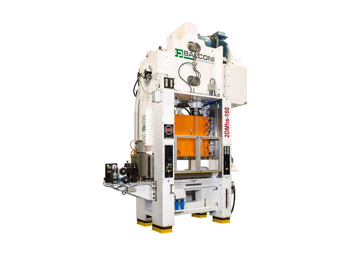 Presse rapide modèle 2DMhs-160 de 160 t, pour la production de pions en aluminium