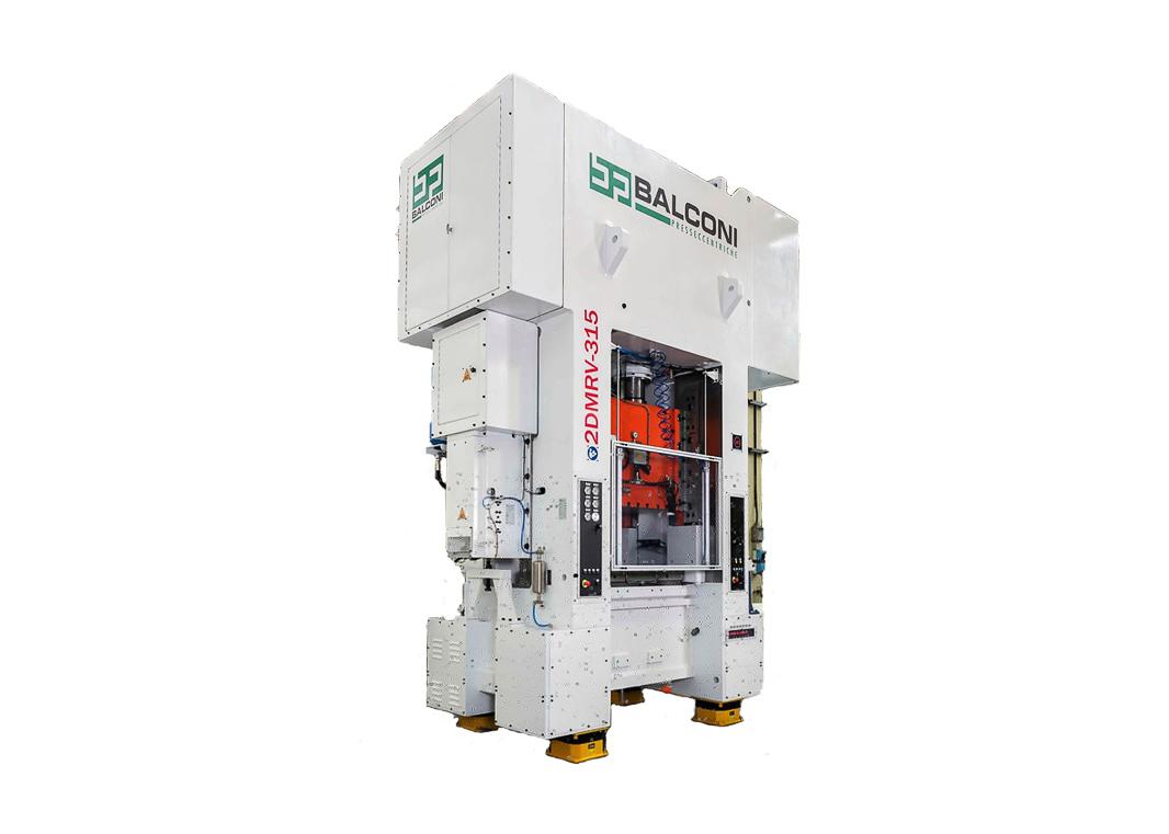 Presse à haute vitesse 2DMRV-315 de 315 t pour la production de maillons de chaîne